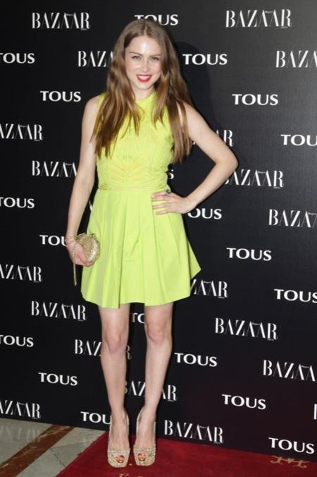 Carla Nieto Harpers Bazaar - Tous 2012
