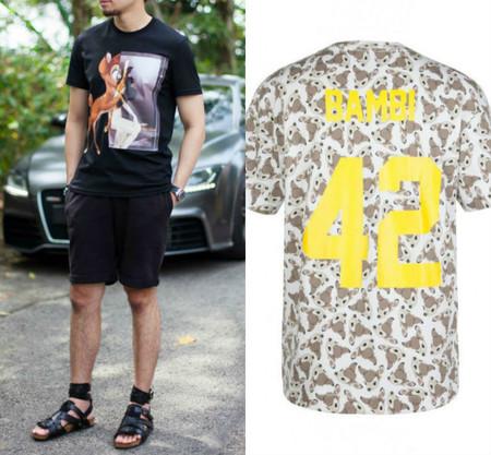 Ya lo hizo Givenchy y ahora Eleven Paris: ¿te atreves a llevar a Bambi en tu camiseta?