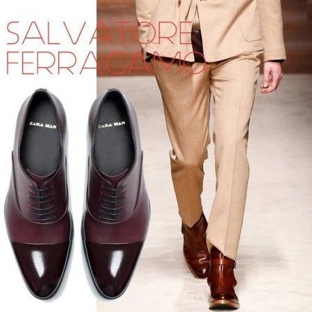 Zapatos De Pasarela Zara Invierno 2014 Trendencias Hombre