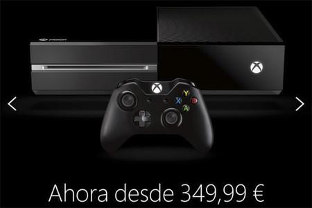 O Xbox One realmente baja su precio a 349,99 euros o alguien ha metido la pata hasta el fondo (actualizado)