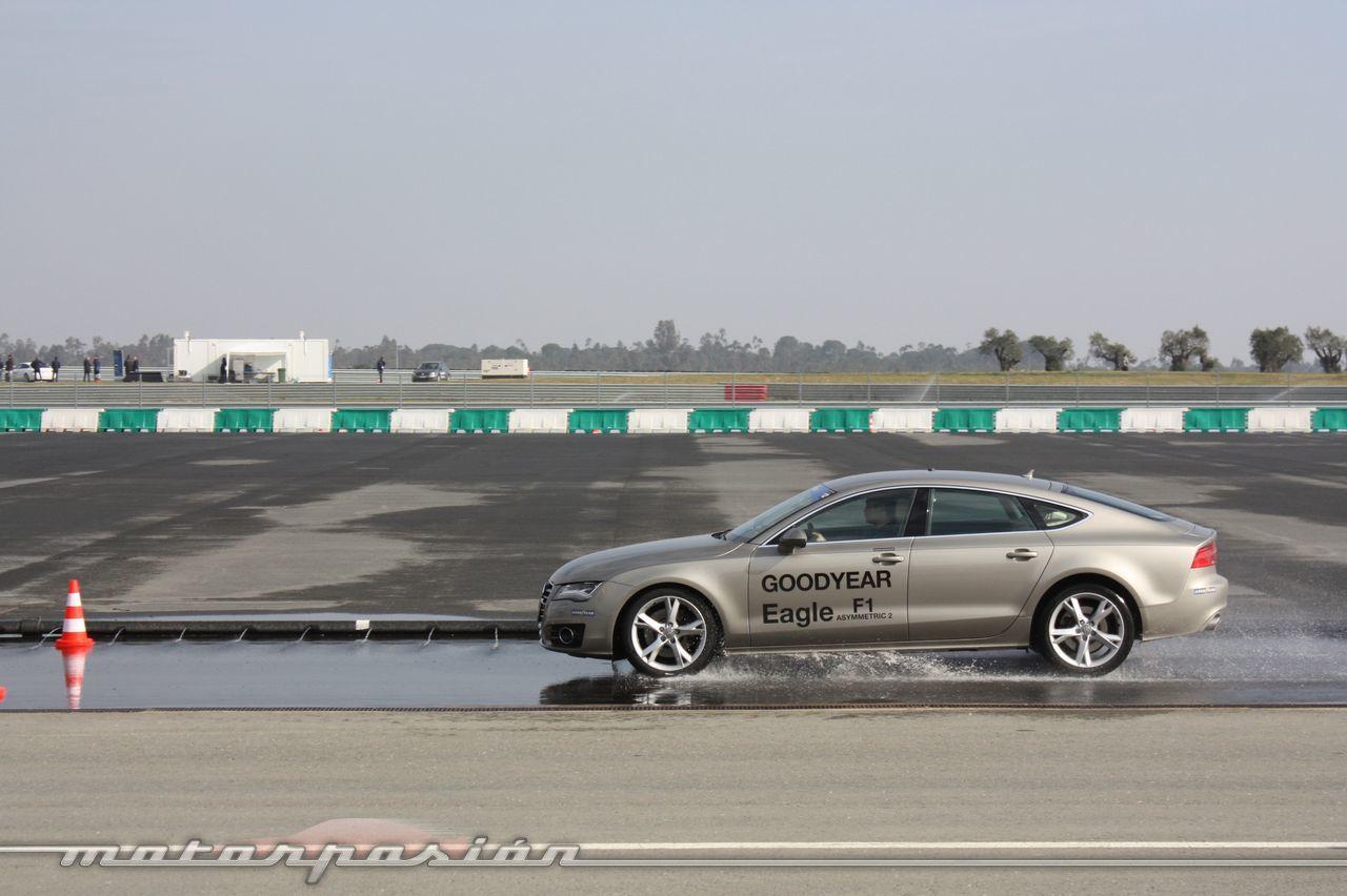Foto de Goodyear Eagle F1: Audi TT RS, Audi A7 y Mercedes CLS (35/79)