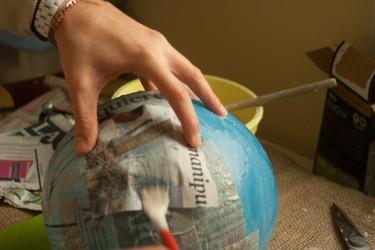 Cómo hacer papel maché