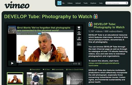 DEVELOP Tube: Un canal en Vímeo imprescindible para fotógrafos