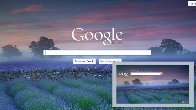 Coloca la imagen diaria de Bing automáticamente de fondo en Google con esta extensión de Chrome