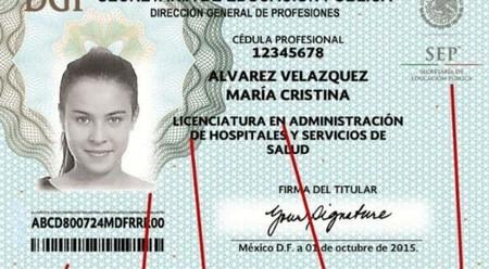 A partir del 1 de octubre las cédulas profesionales en México podrán expedirse totalmente en línea