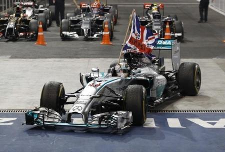 Mi Gran Premio de Abu Dabi 2014: Lewis Hamilton, merecidísimo campeón