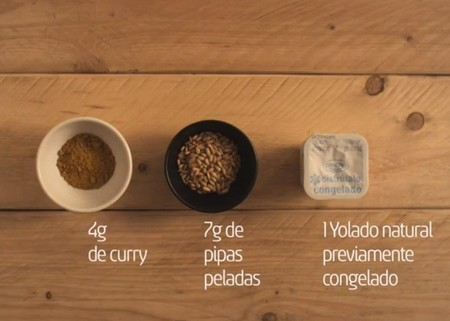 yolado curry ingredientes