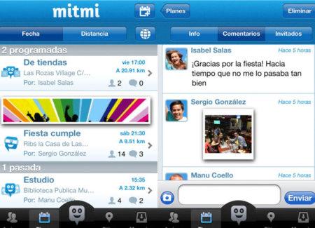 Mitmi, haz planes con tus amigos con la ayuda de tu smartphone