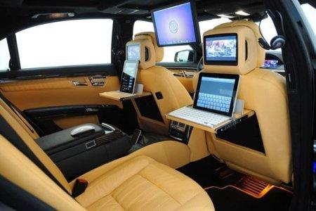 El iCar es de Mercedes y se apellida Brabus iBusiness