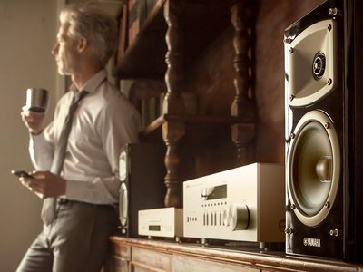 Yamaha R-N303D es una opción asequible para los que buscan un receptor de audio económico para el salón