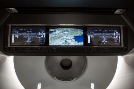 Spacex Crew Dragon Touchscreen