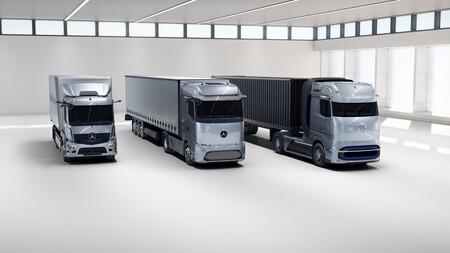 Camiones Electricos Mercedes Benz Mercedes Benz Genh2 Truck