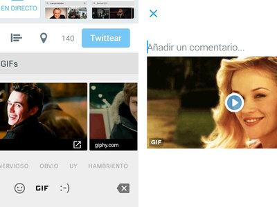 Twitter beta te deja añadir GIF desde el teclado: así se hace