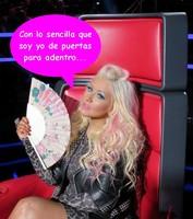 Hola Christina Aguilera de a pie, adiós diva insoportable