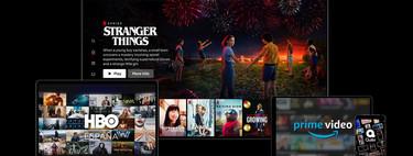 1.101,12 euros al año: eso cuesta estar suscrito a Netflix, HBO, Disney+, Amazon, Movistar+ y otras plataformas de streaming