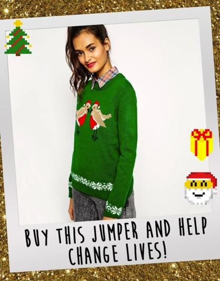 Jersey Benefico Navidad Asos