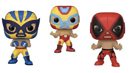Funko prepara una línea de héroes de Marvel con estilo de Lucha Libre, según una filtración