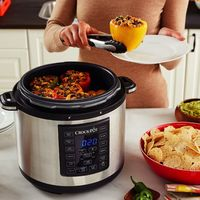 La olla Multicooker Express Crock-Pot CSC051X, que nos permite cocinar a presión, está rebajada a 63,99 euros en Amazon