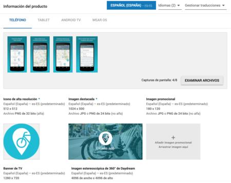 Ficha Google Play Store