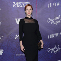 Christina Hendricks fiestas emmy 2014