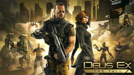 Square Enix lanza Deus Ex: The Fall para Android