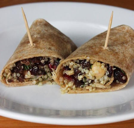 Ideas Lunch Saludables Regreso A Clases Wrap De Quinoa