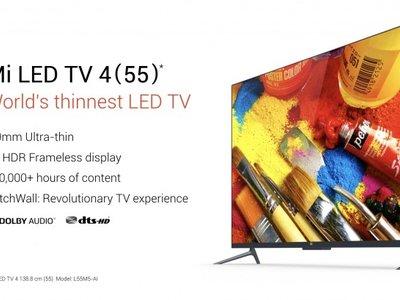 Xiaomi Mi LED TV 4: un televisor 4K, HDR con una gran diagonal con el sello Xiaomi que no sabemos si llegará a España