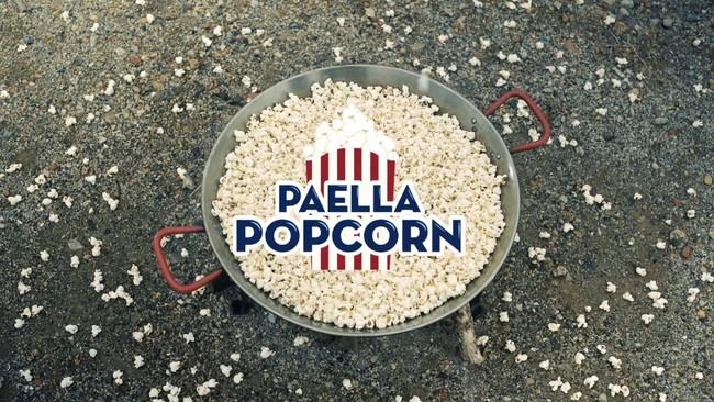 Palomitas con sabor a Paella