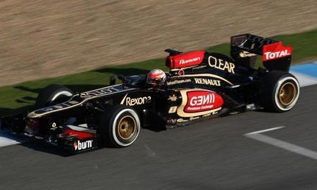 El E21 de Romain Grosjean tendrá algunas modificaciones para China