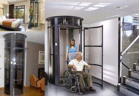 Eletubo, el ascensor que te cabe en casa
