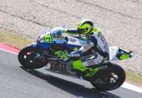 Valentino Rossi, a romper la maldición de la pole