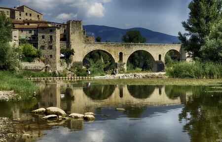 Besalú naturaleza Girona