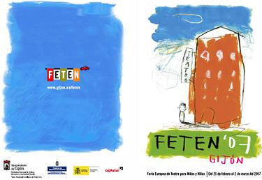 FETEN 2007,  XVI edición de la Feria Europea de Teatro para Niños y Niñas