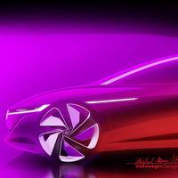 La futura berlina eléctrica y autónoma de Volkswagen se llama I.D. VIZZION y estará en Ginebra