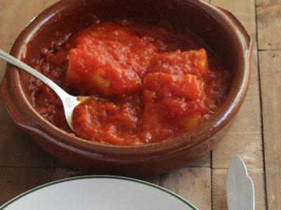 Receta de bacalao con tomate