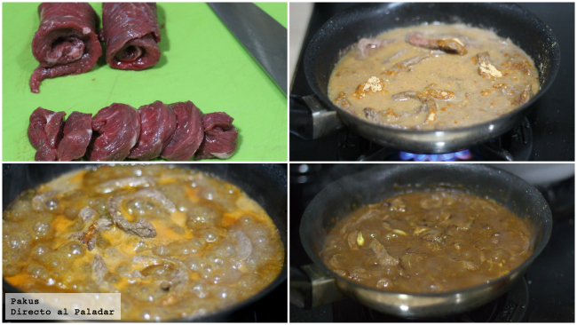 carne en tacos mexicanos pasos