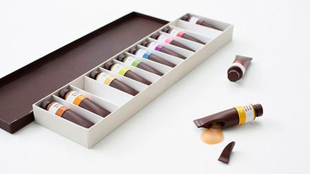 ¿Pintas o comes chocolate?