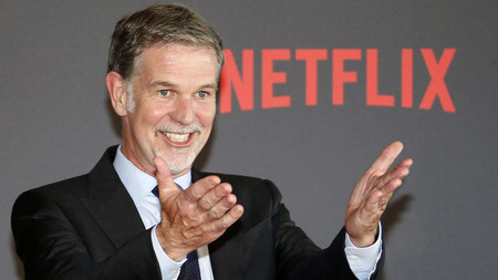 Reed Hastings, CEO de Netflix, asegura que Apple TV+ y Disney+ serán duros competidores