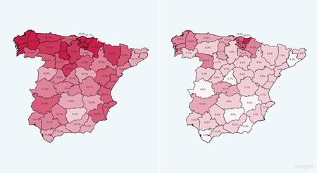 La geografía de la mascarilla: qué provincias de España la están llevando más y menos