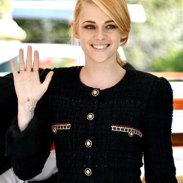 Kristen Stewart sabe aunar elegancia y clasicismo con toques modernos, y así lo ha demostrado a su llegada al Festival de Venecia