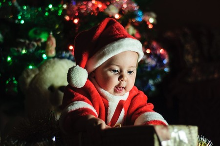 La Navidad con un bebé no es como lo pinta Instagram