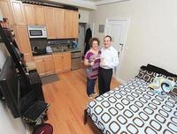 Un apartamento de 16 metros cuadrados