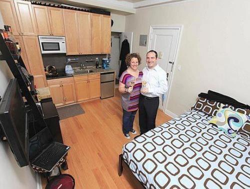 Un apartamento de 16 metros cuadrados - Apartamentos de 28 metros cuadrados ...