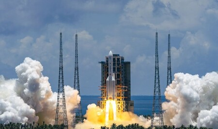 China Marte Cohete