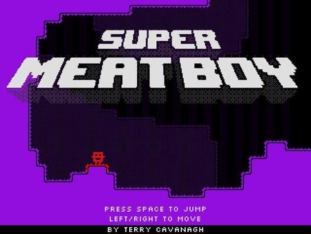 El 'Super Meat Boy' de Terry Cavanagh ('VVVVVV')