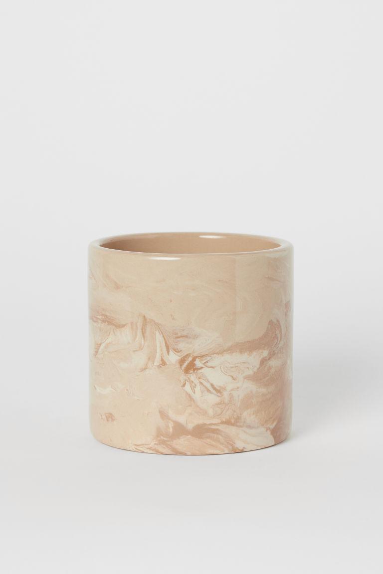 Macetero pequeño de cerámica