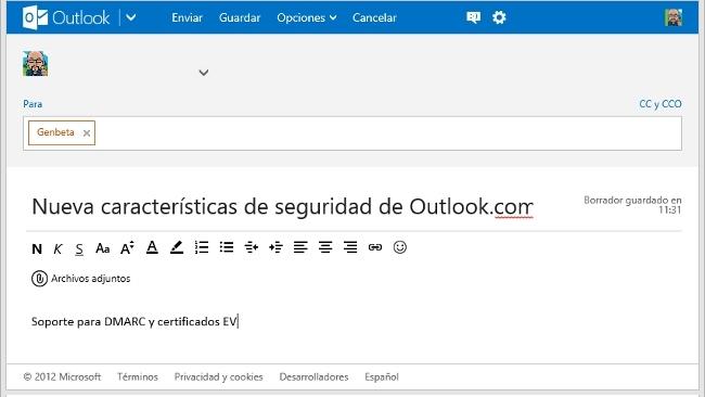 Microsoft mejora la seguridad de Outlook.com para evitar ataques de phishing