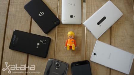 Los grandes smartphones del año disparan juntos: comparativa de cámaras de móviles 2013