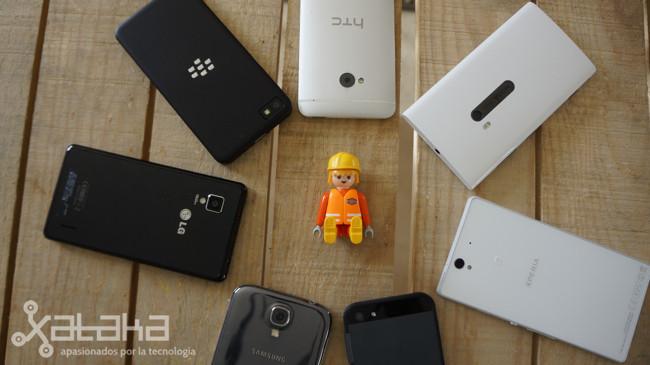 Comparativa smartphones fotografia