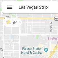 Google Maps muestra el tiempo de la zona que estás mirando en su última prueba para iOS